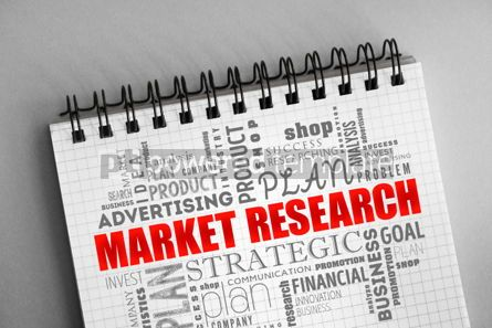 Business: Market research word cloud collage #06360