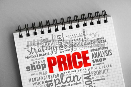 Business: PRICE word cloud collage #06362