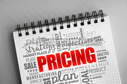 Business: Pricing word cloud collage #06363