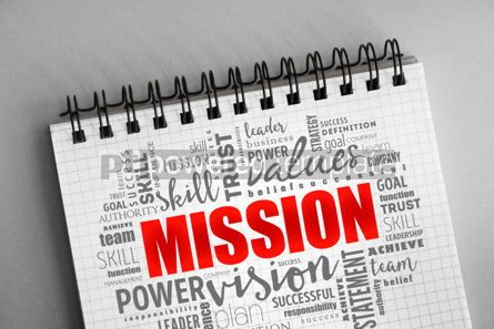 Business: MISSION word cloud collage #06364