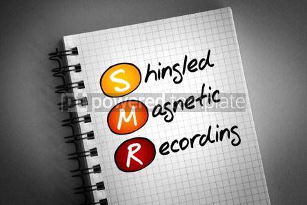 Technology: SMR - Shingled Magnetic Recording acronym #06367