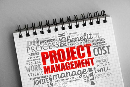 Business: Project Management word cloud collage #06370