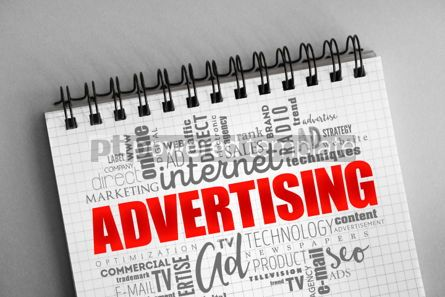 Business: ADVERTISING word cloud creative concept #06372