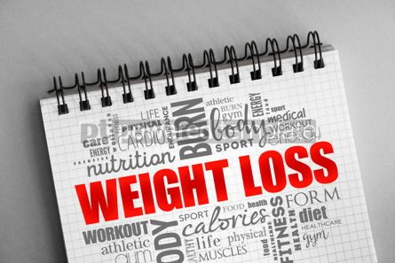 Health: Weight Loss word cloud collage #06379