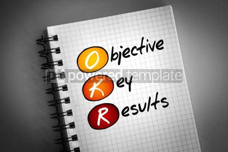 Business: OKR - Objective Key Results acronym #06390