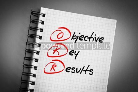 Business: OKR - Objective Key Results acronym #06391