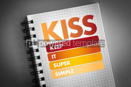 Business: KISS - Keep It Super Simple acronym #06392