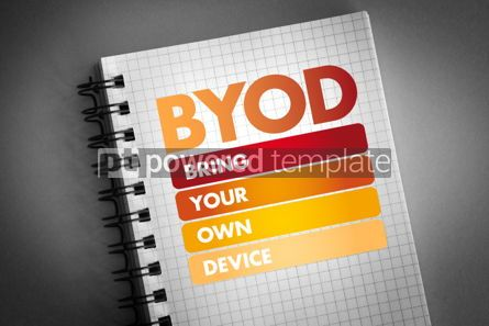 Business: BYOD - Bring Your Own Device acronym #06393