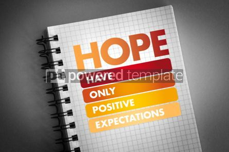 Business: HOPE - Hanging Onto Positive Expectations #06396