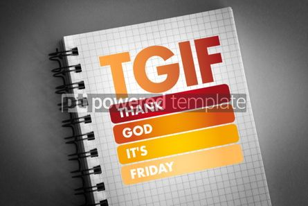 Business: TGIF - Thank God It's Friday acronym #06408
