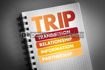 Business: TRIP -acronym business concept background #06416