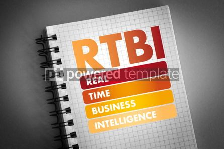 Business: RTBI - Real Time Business Intelligence acronym #06418