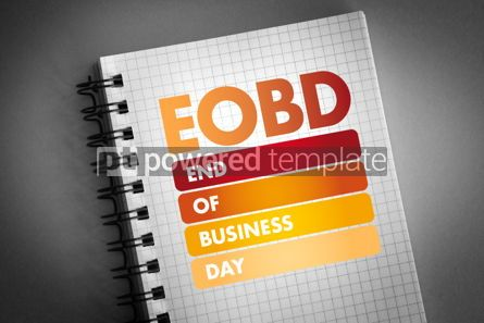 Business: EOBD - End Of Business Day acronym #06419