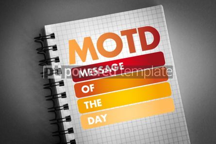 Business: MOTD - Message Of The Day acronym #06421