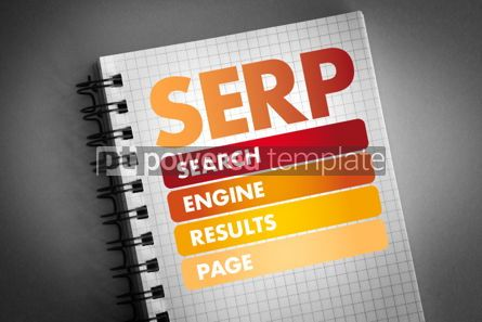 Business: SERP - Search Engine Results Page acronym #06422