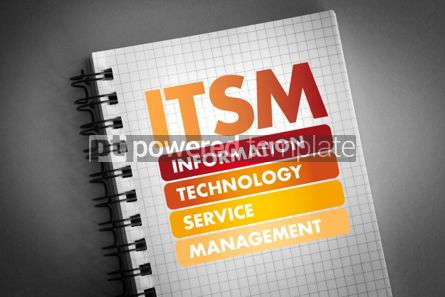 Business: ITSM acronym business concept background #06424