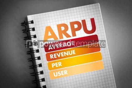 Business: ARPU - Average Revenue Per User acronym #06425