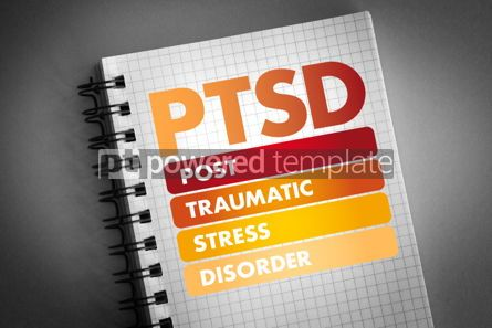Business: PTSD - Posttraumatic Stress Disorder acronym #06428