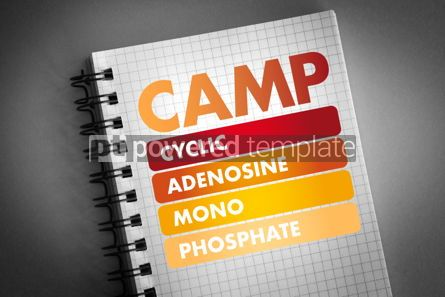 Health: CAMP acronym medical concept background #06440