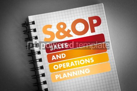 Business: S&OP - Sales and Operations Planning acronym #06451