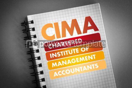 Business: CIMA acronym business concept background #06452