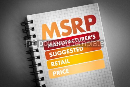 Business: MSRP - Manufacturer's Suggested Retail Price #06459
