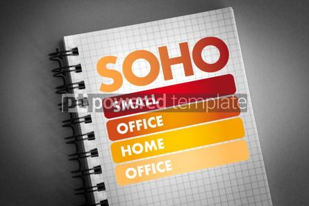 Business: SOHO - Small Office/Home Office acronym #06474