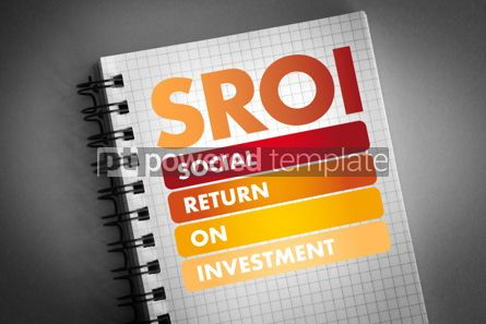 Business: SROI - Social Return On Investment acronym #06475