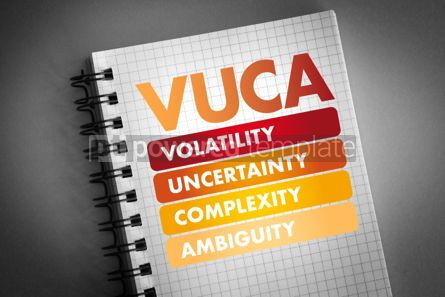 Business: VUCA - Volatility Uncertainty Complexity Ambiguity #06485