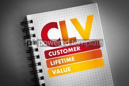 Business: CLV - Customer Lifetime Value acronym #06495