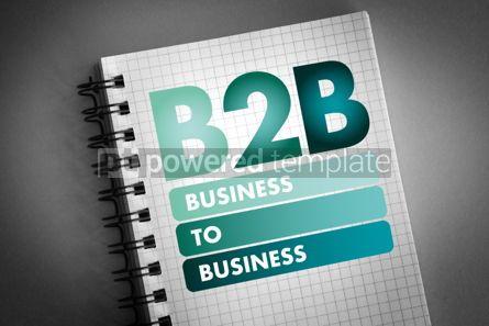 Business: B2B - Business To Business acronym #06497