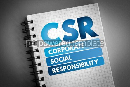 Business: CSR - Corporate Social Responsibility acronym #06513