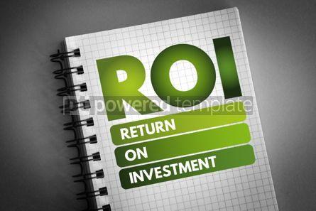 Business: ROI - Return On Investment acronym #06517