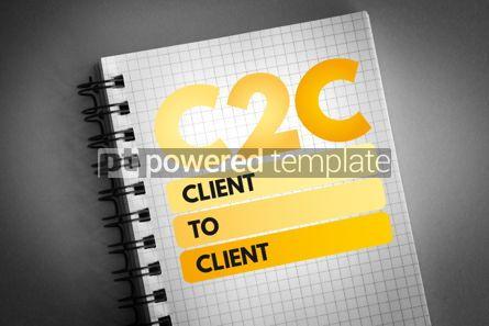 Business: C2C - Client To Client acronym #06519
