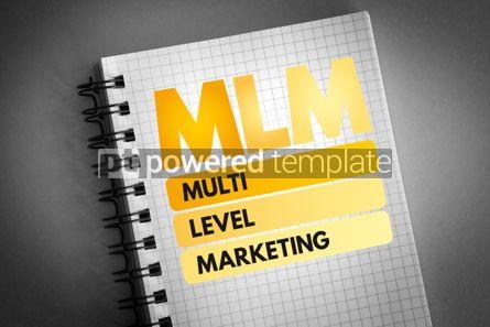 Business: MLM - Multi Level Marketing acronym #06520