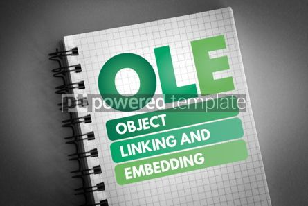 Technology: OLE - Object Linking and Embedding acronym #06525