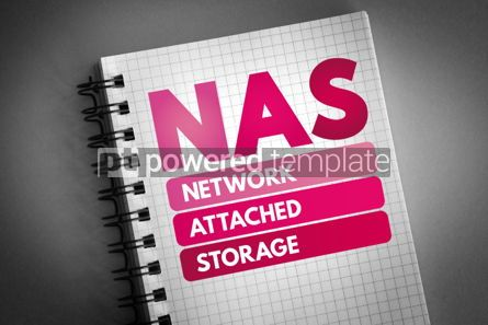 Technology: NAS - Network Attached Storage acronym #06526