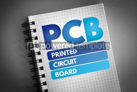 Technology: PCB - Printed Circuit Board acronym #06527