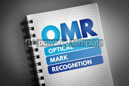 Technology: OMR - Optical Mark Recognition acronym #06528