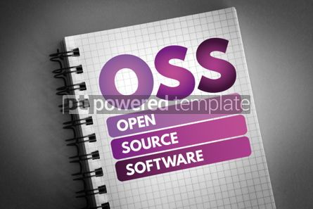 Technology: OSS - Open source software acronym #06535