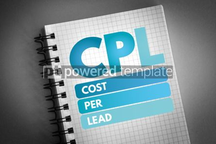 Business: CPL - Cost Per Lead acronym #06539
