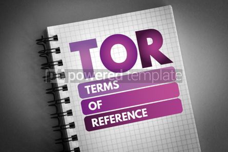 Business: TOR - Terms of Reference acronym #06543