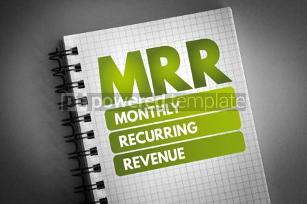 Business: MRR - Monthly Recurring Revenue acronym #06544