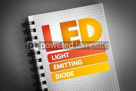 Technology: LED - Light Emitting Diode acronym #06546