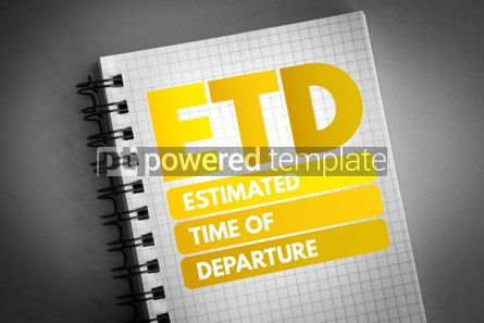 Business: ETD - Estimated Time of Departure acronym #06549
