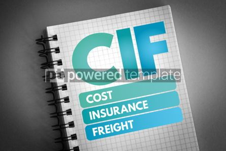 Business: CIF - Cost Insurance Freight acronym #06552