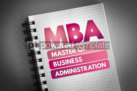 Business: MBA - Master of Business Administration acronym #06557