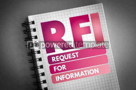 Business: RFI - Request For Information acronym #06558