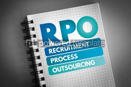 Business: RPO - Recruitment Process Outsourcing acronym #06568