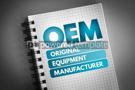 Technology: OEM - Original Equipment Manufacturer acronym #06574